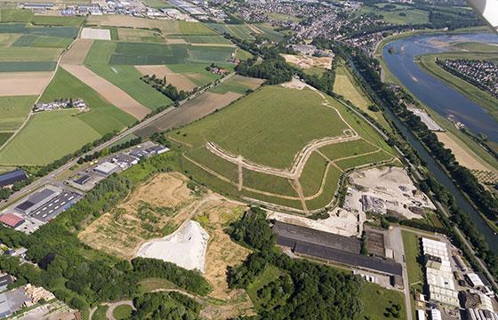 Zonnepark van 30.000 panelen in Maastricht