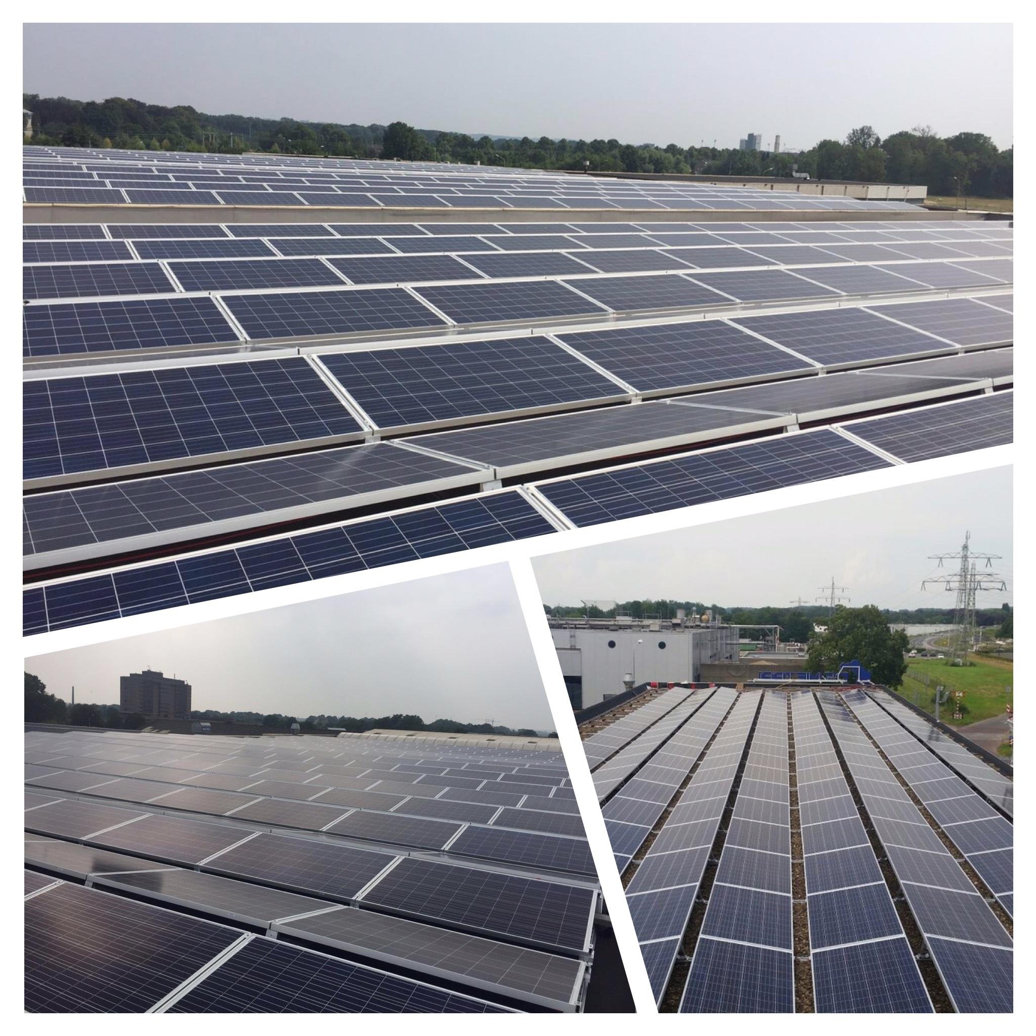 drieluik zonnepanelen zakelijk